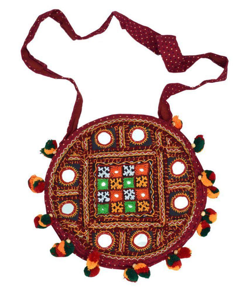 KACHCHH KALA HANDICRAFT Multi Cotton Shoulder Bag