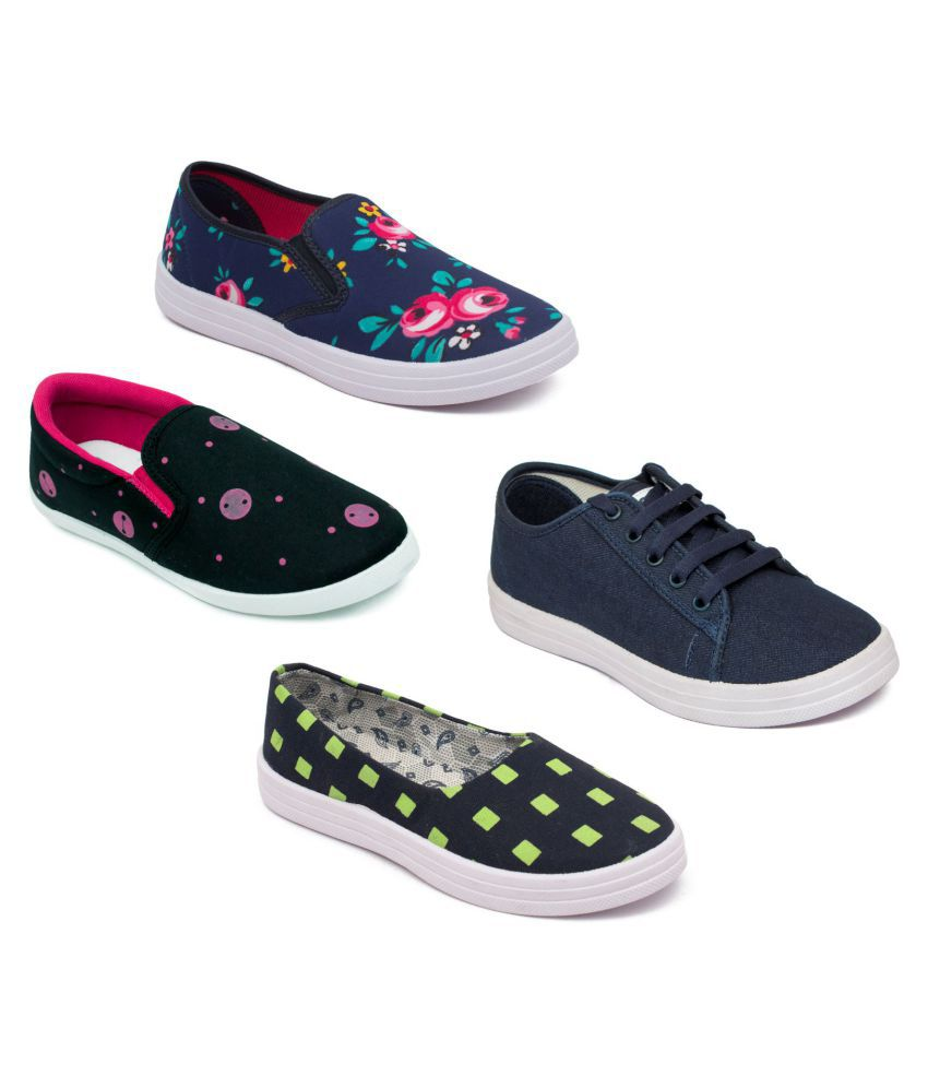 ASIAN Multi Color Casual Shoes