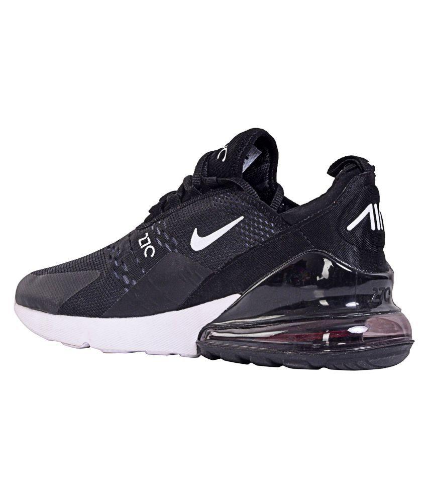 4b1f1a25968f0 Nike AIR MAX 270 Black Running Shoes - Buy Nike AIR MAX 270 Black ...