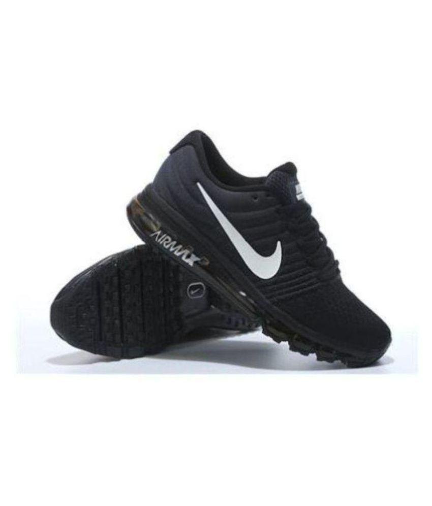 64d514904f8 Nike Air Max 2018 Black Running Shoes - Buy Nike Air Max 2018 Black ...