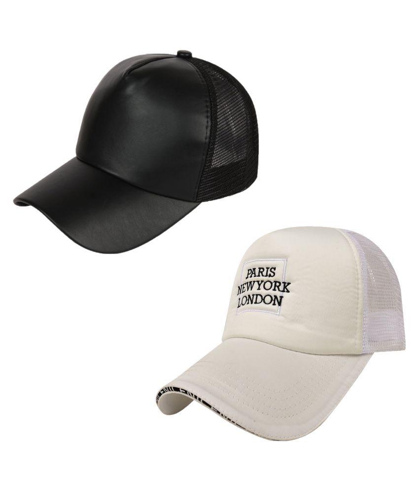 DRUNKEN Multi Plain Cotton Caps