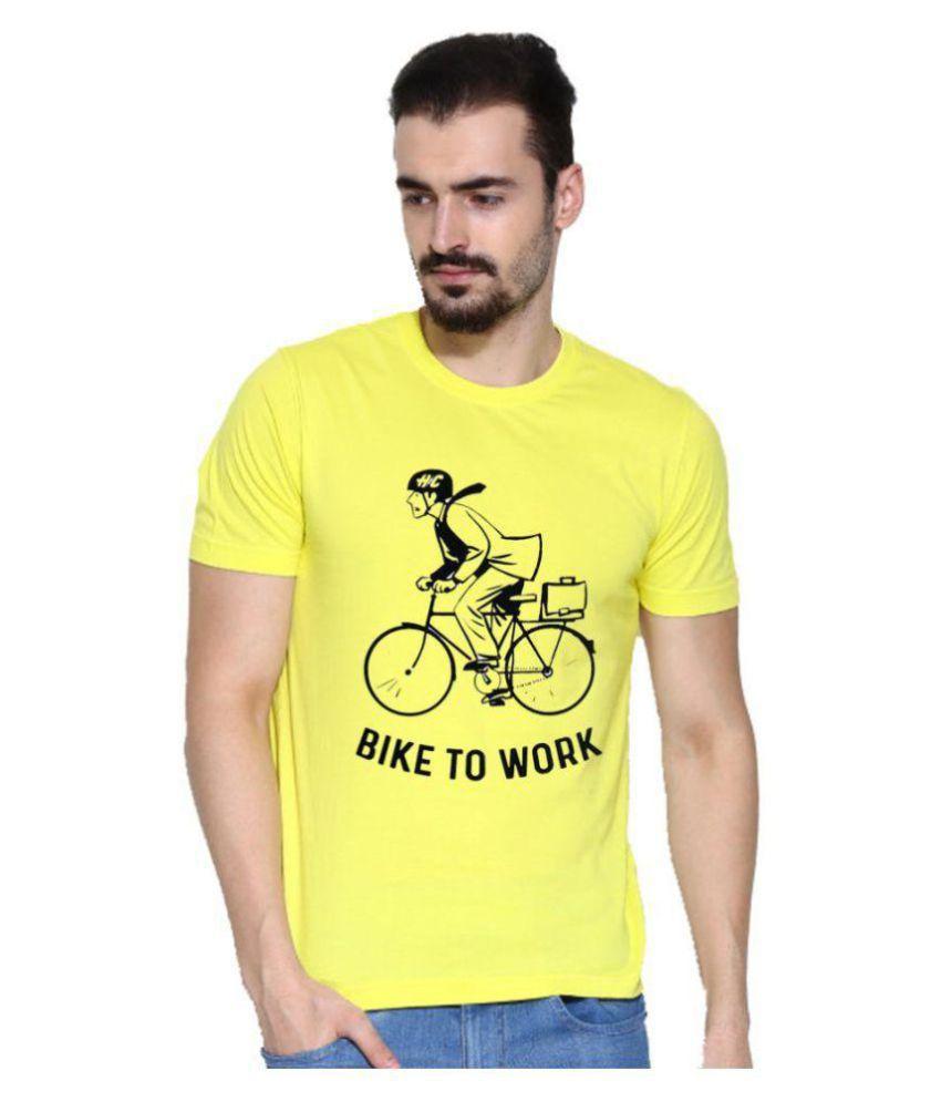 Lime Yellow Half Sleeve T-Shirt