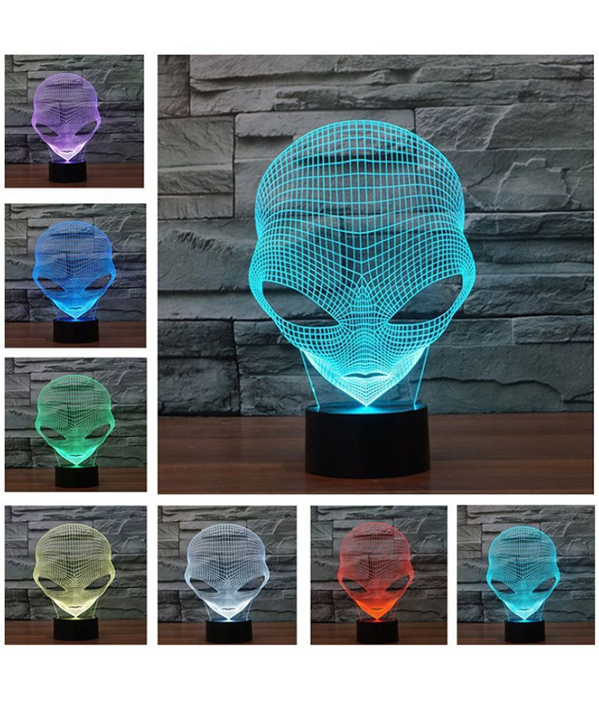 ZXG as shown in the package Night Lamp Multi - Pack of 1