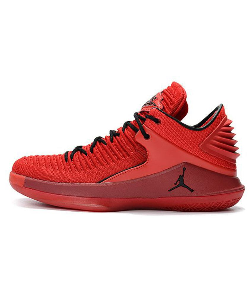 finest selection bac15 64ceb NIKE JORDAN Red Basketball Shoes NIKE JORDAN Red Basketball Shoes ...