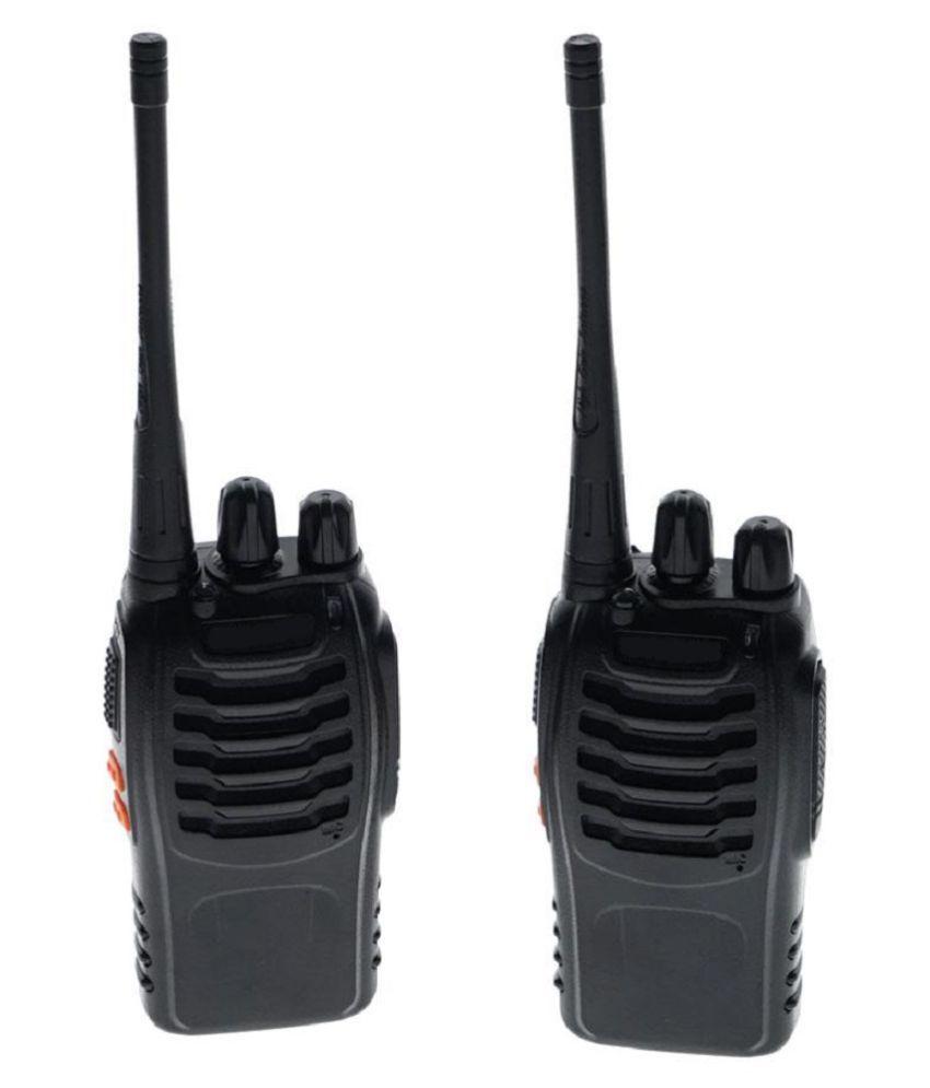 BF-888S UHF CTCSS/DcsHandheld Amateur Radio Tranceiver Walkie Talkie Two Way Radio Long Range Black 2 Pack