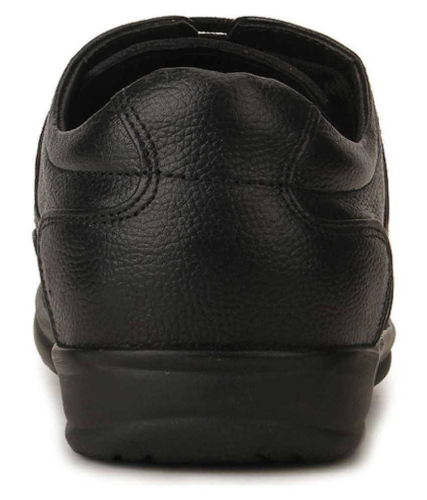 Red Chief Derby Genuine Leather Black Formal Shoes Price In India
