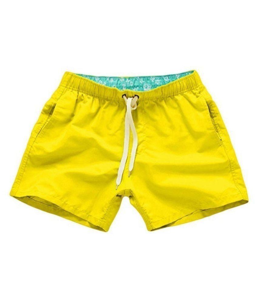 Changing Destiny Yellow Shorts