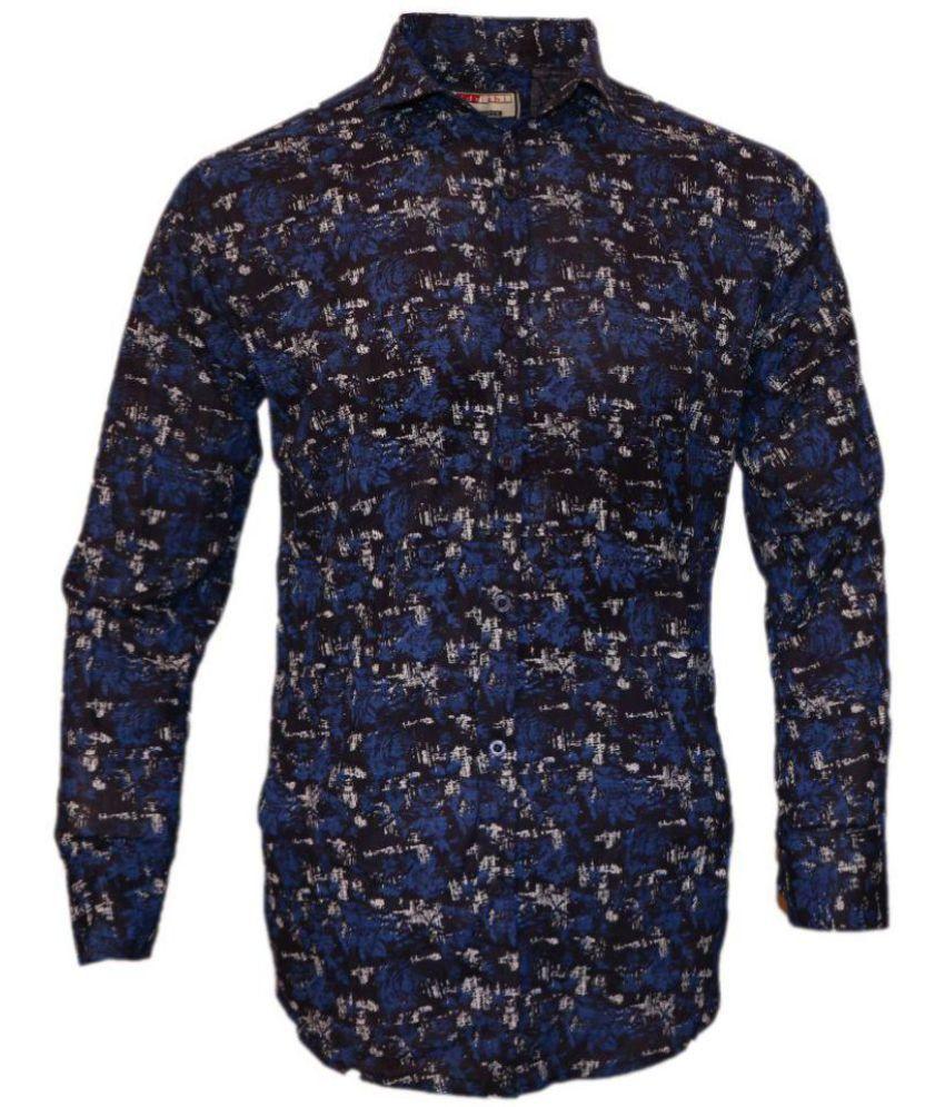 IDRISHI 100 Percent Cotton Shirt