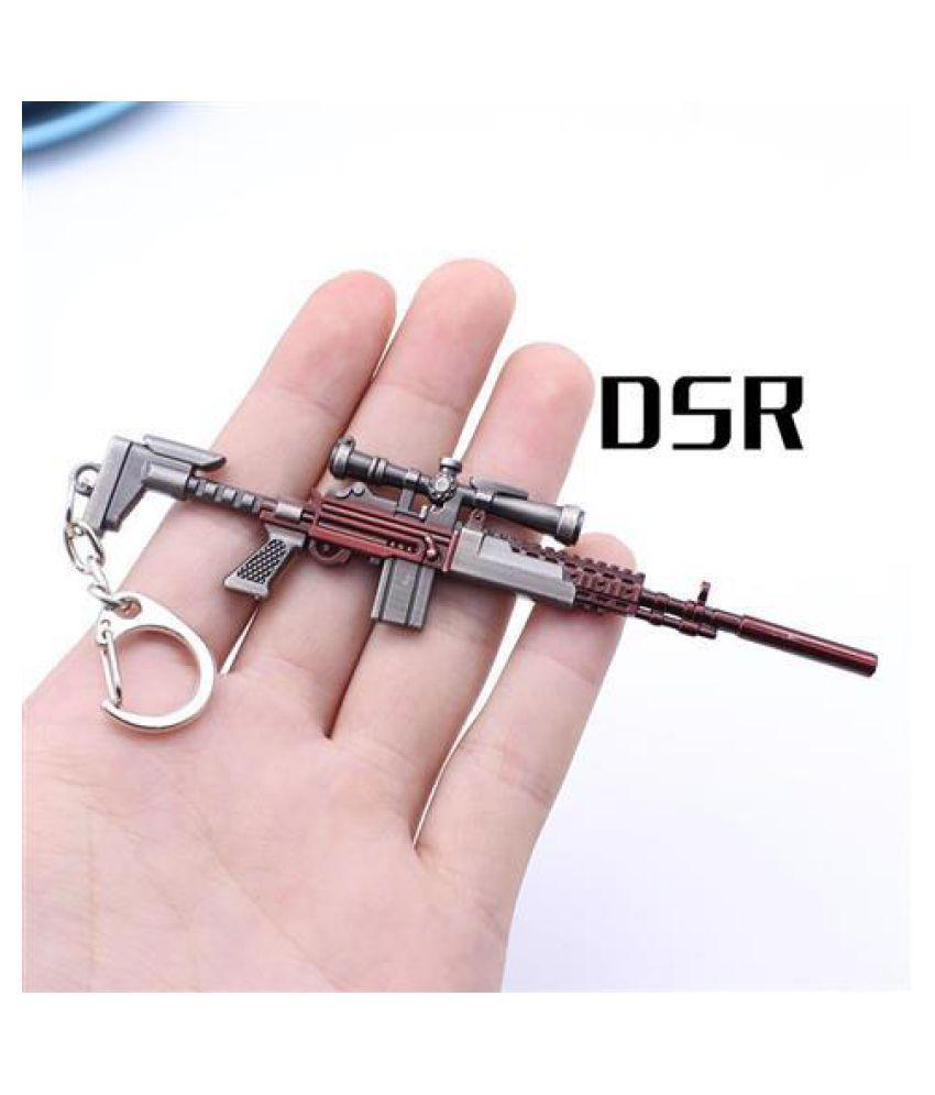 PUBG Automatic Gun Keychain