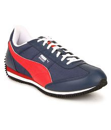 Quick View. Puma Velocity Tetron II DP Blue Running Shoes