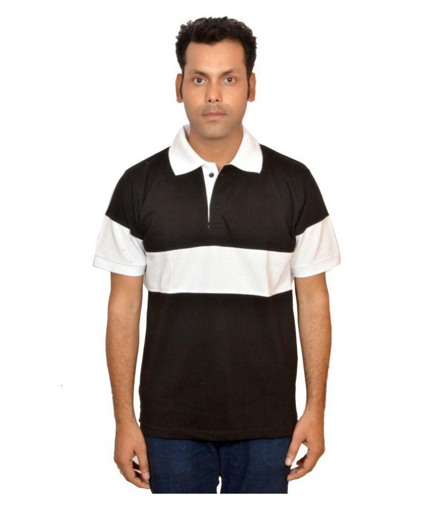 DYFIAN Black High Neck T-Shirt Pack of 1