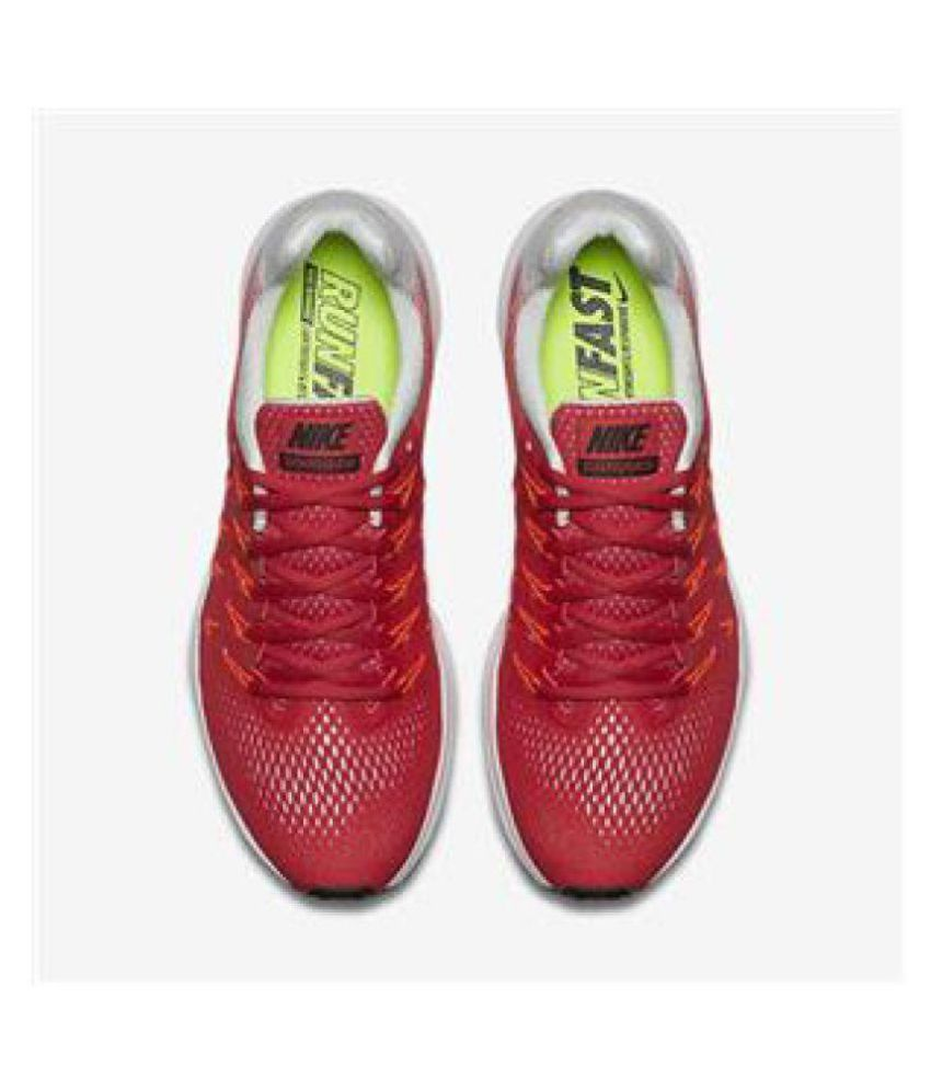 8a9159a02 Nike AIR ZOOM PEGASUS 33 Red Running Shoes - Buy Nike AIR ZOOM ...