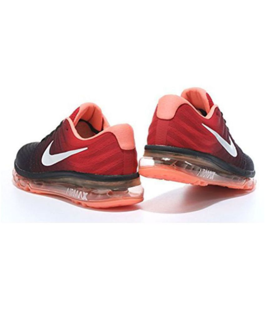 4f22cab98c4662 ... ireland nike airmax 2017 all colour orange running shoes buy nike  airmax 2017 all colour orange
