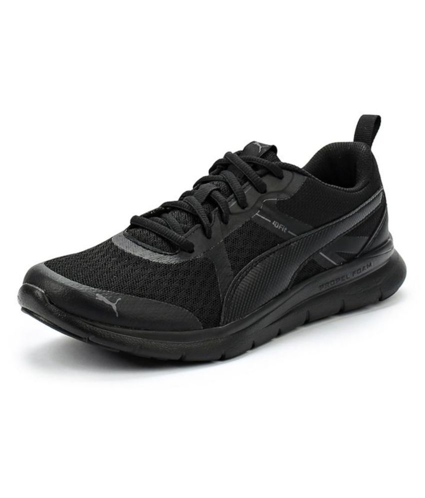 Puma Flex Essential Running Shoes Black  Buy Online at Best Price on  Snapdeal ee2432ba2f1c