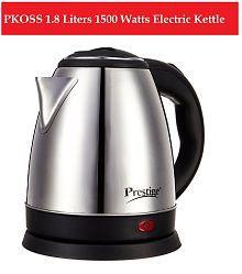 Prestige PKOSS 1.8 Liters 1500 Watts Stainless Steel Electric Kettle