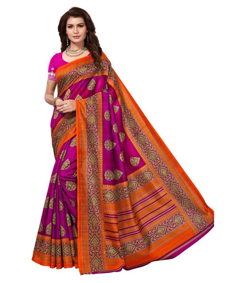 Antoniya Multicoloured Bhagalpuri Silk Saree
