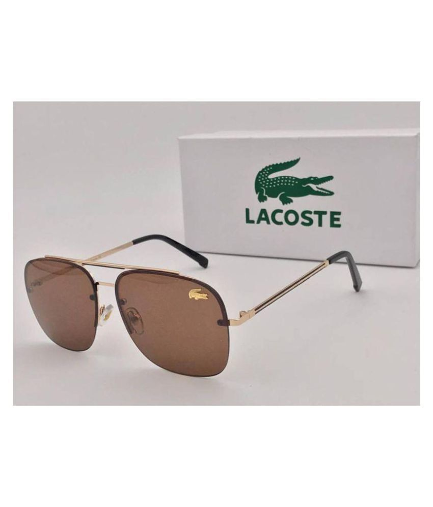 d6032944f4db LACOSTE SUNGLSS Brown Square Sunglasses ( L11089 ) - Buy LACOSTE SUNGLSS  Brown Square Sunglasses ( L11089 ) Online at Low Price - Snapdeal
