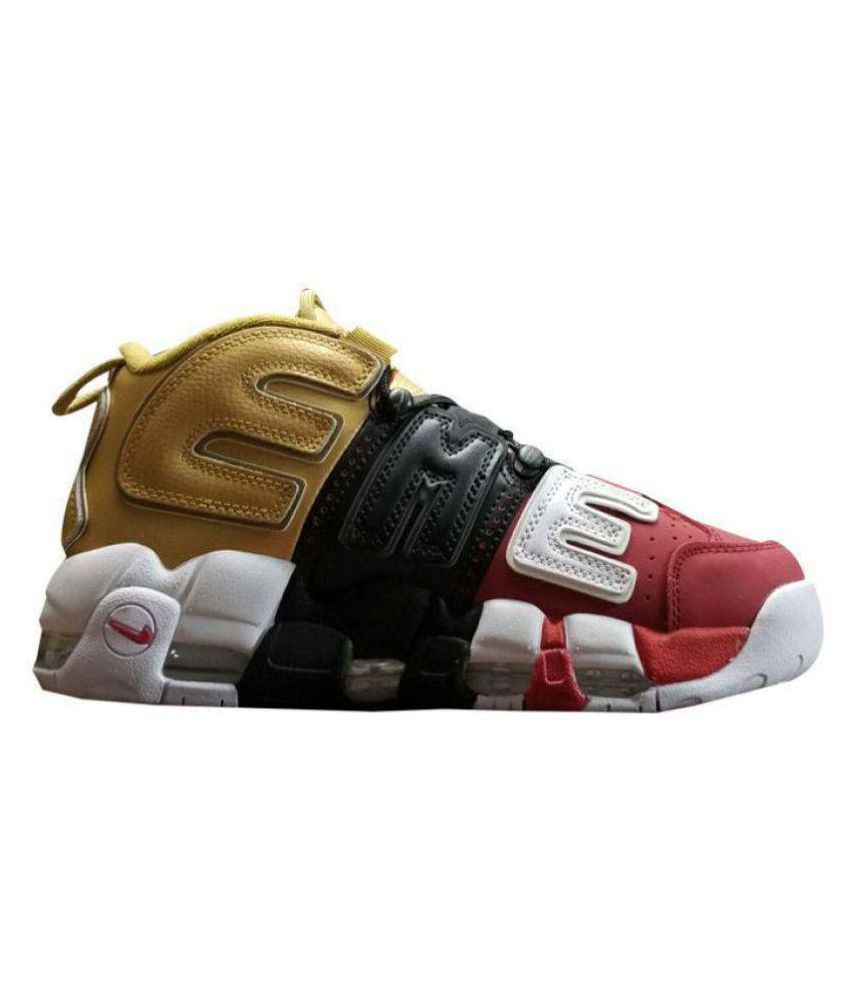 Nike Air UpTempo Supreme Edition Multi Color Basketball Shoes