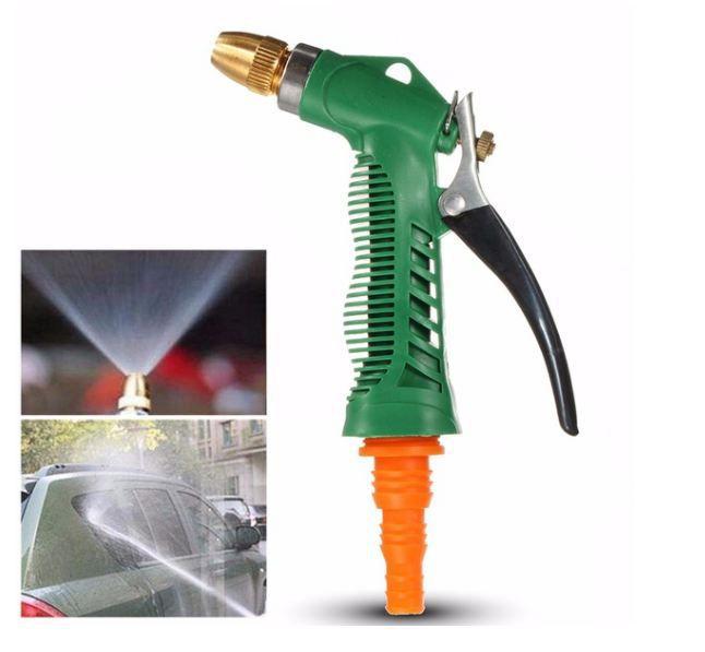 GOCART Plastic Trigger and Brass Nozzle Spray Gun for Car Bike & Parking Pet Wash