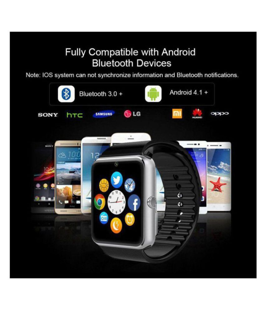 Wearable Smartwatches Online At: Life Like GT08 BLUETOOTH WITH SIM & TF CARD SLOT Smart