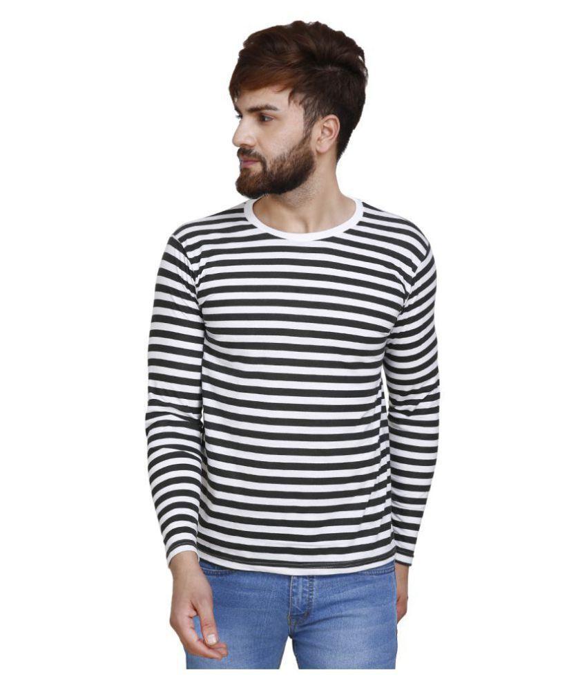 LivFit Multi Full Sleeve T-Shirt Pack of 1