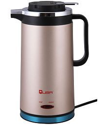 Quba 7711 1.8 Liters 1500 Watts Stainless Steel Electric Kettle