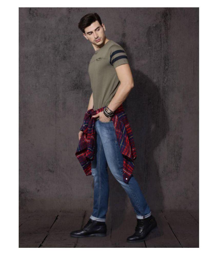 Diesel Dark Blue Slim Jeans