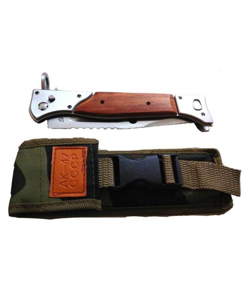 Prijam Knife Ak 47 Model Heavy Foldable Pocket Camping