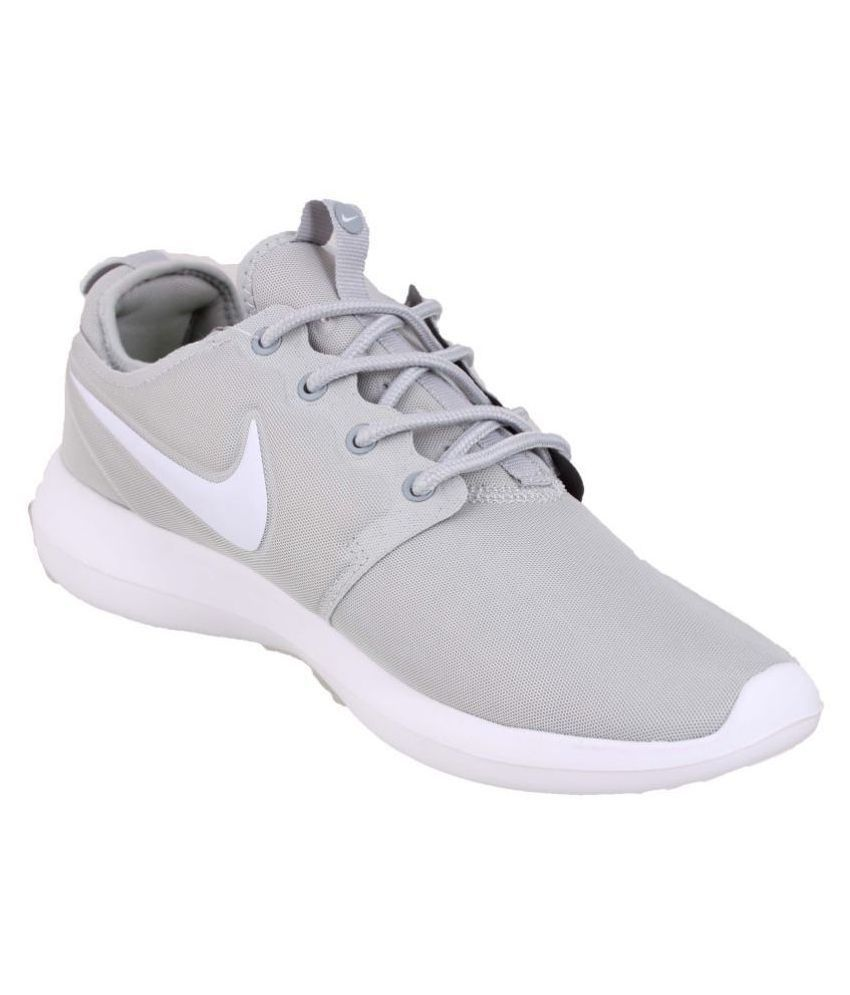 huge selection of 214e3 12497 ... Nike Roshe Two Grey Running Shoes .