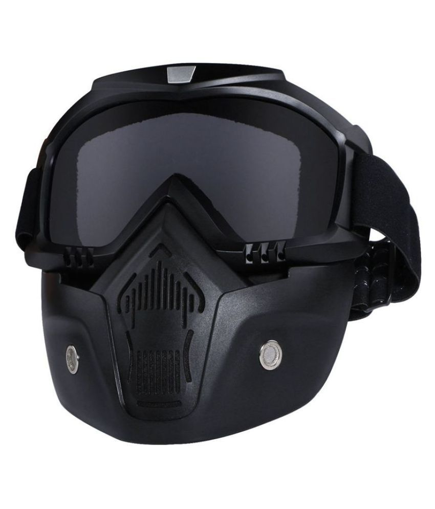 Swagger Motorcycle Goggles Mask Detachable,Protect Padding Helmet Sunglasses Sold by ZXG