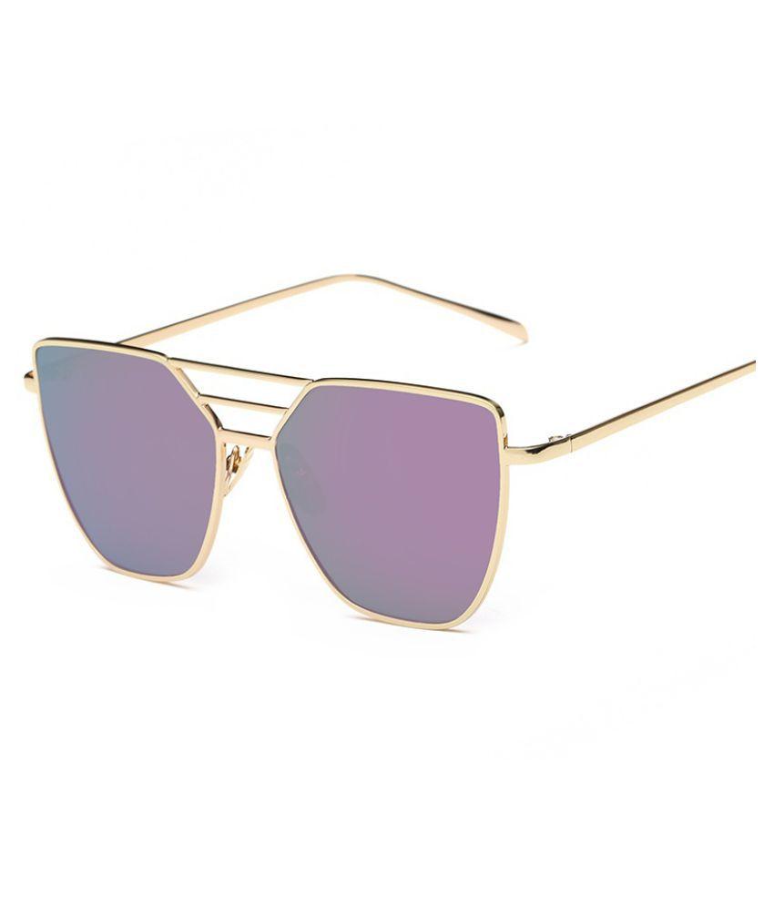 Swagger Women/Men's Retro Metal Frame UV400 Aviator Sunglasses Eye Glasses Eyewear