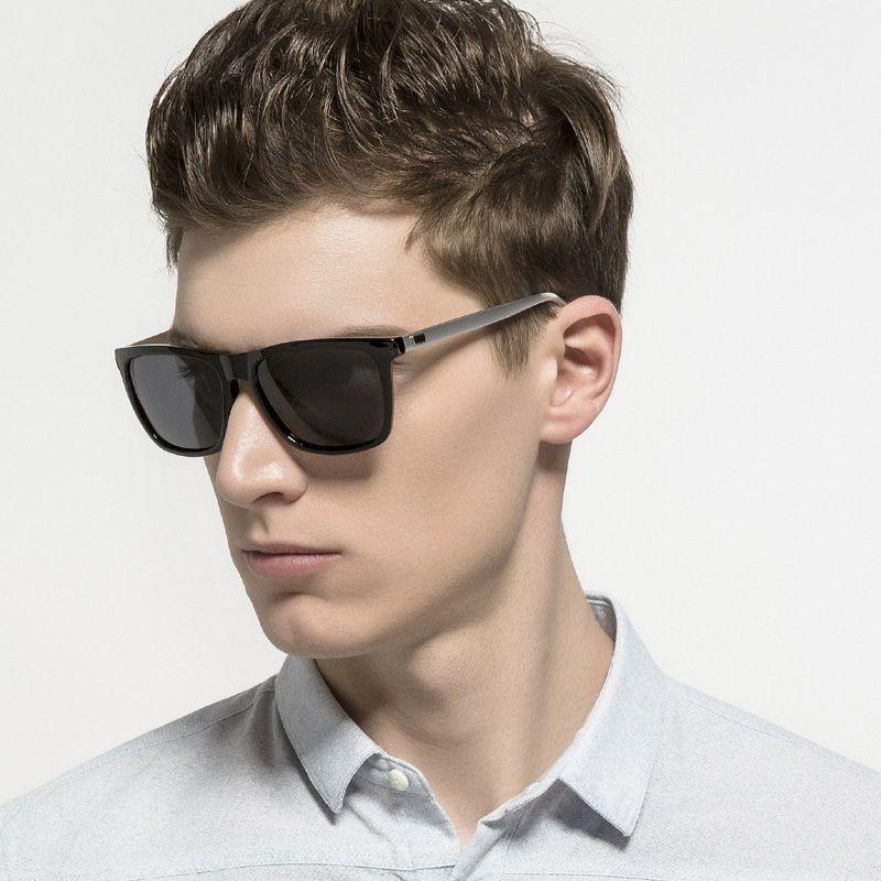 Swagger Aluminum Sunglasses Men Polarized Brand Designer Points Women/Men Vintage Eyewear Driving Sun Glasses Sold by ZXG