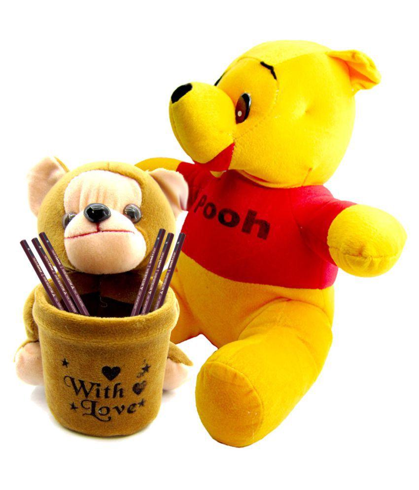 a6dc0b6a0710 Gift Decor Shop pooh bear soft toy (Multi