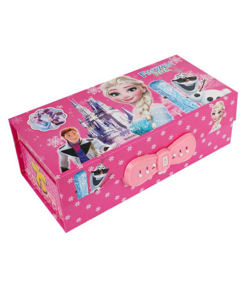 Aarvi Frozen Jewellery Utility Box Birthday Return Gift For Kids