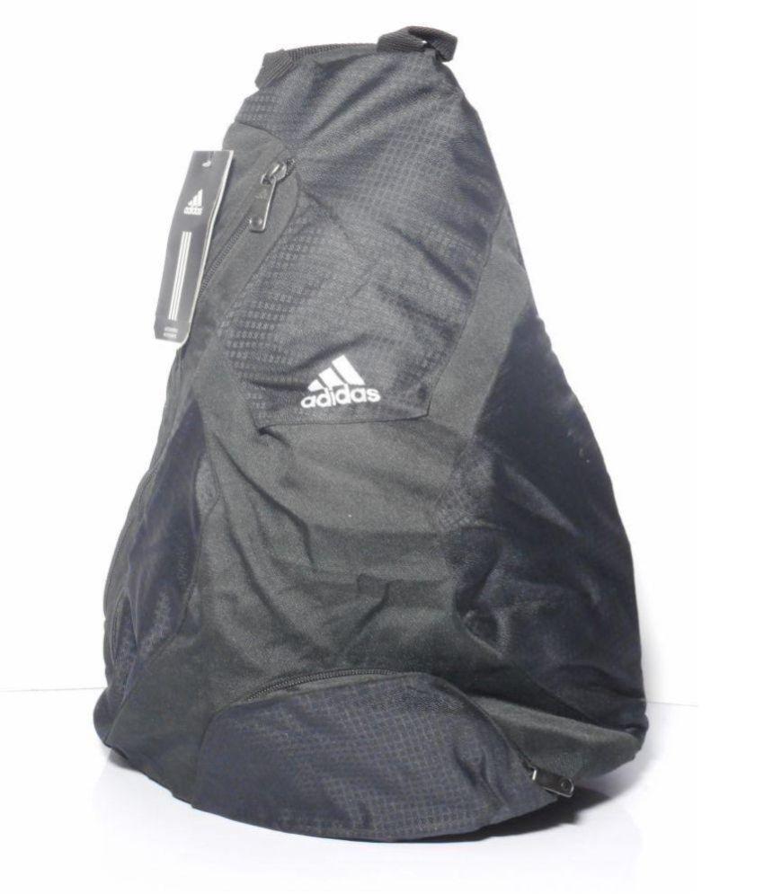 7ce1efd1c957 Adidas BLACK BACKPACK V87623 Backpack - Buy Adidas BLACK BACKPACK V87623  Backpack Online at Low Price - Snapdeal