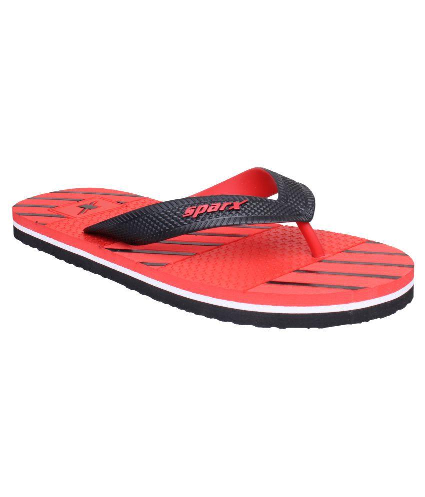 a528d41d59d2 Sparx Men SFG-2087 Red Thong Flip Flop Price in India- Buy Sparx Men SFG-2087  Red Thong Flip Flop Online at Snapdeal