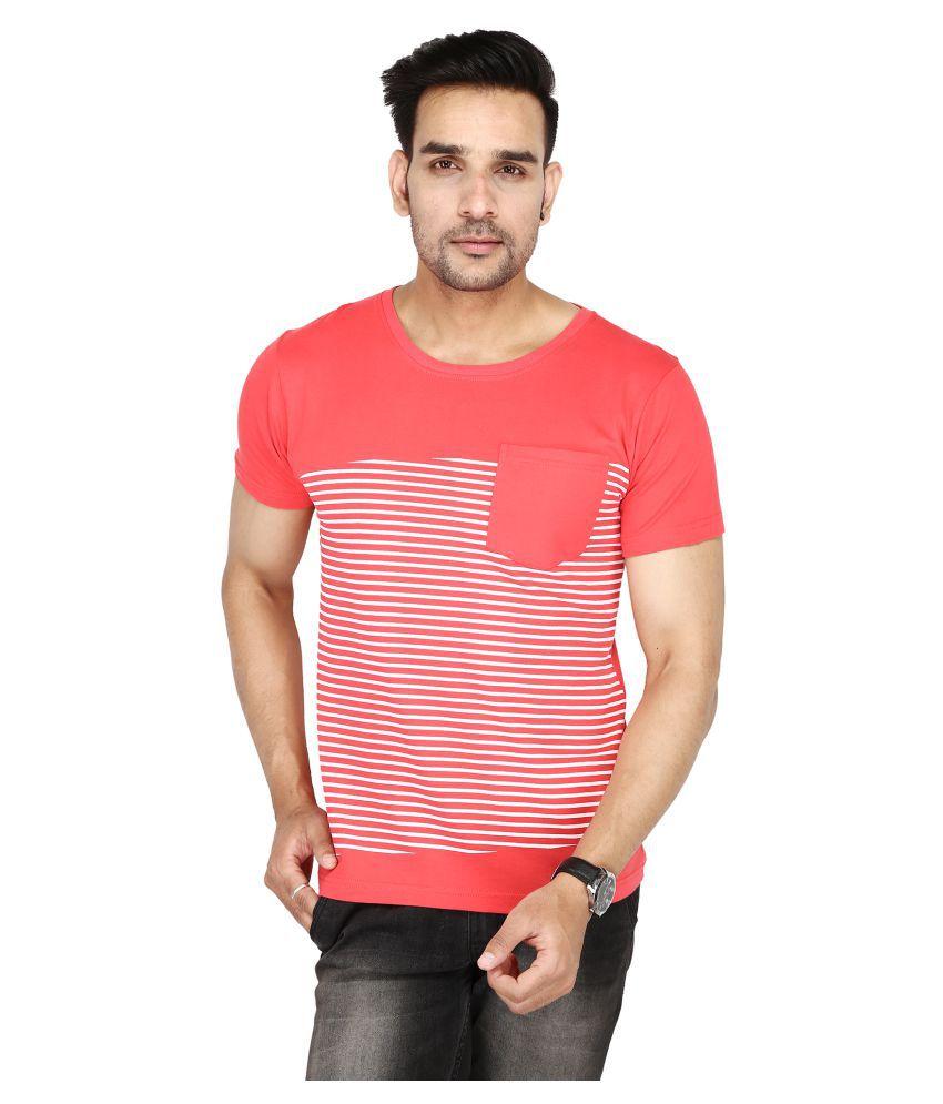 TMAD Red Half Sleeve T-Shirt