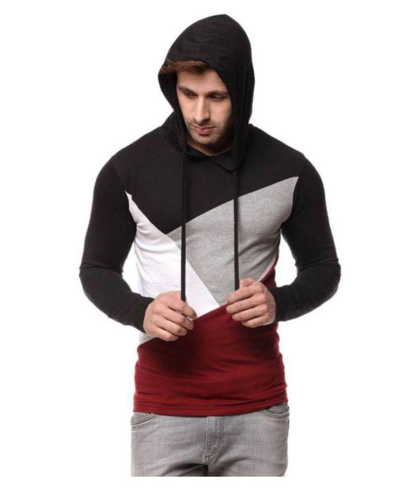 Cenizas Black Full Sleeve T-Shirt