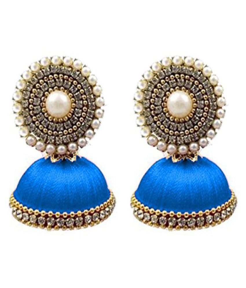 Handmade Silk Thread Earrings Online At Best Prices In India On Snapdeal