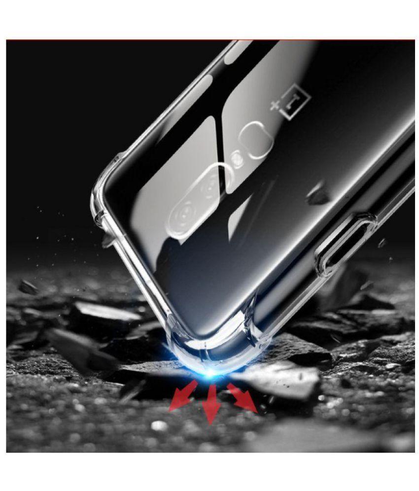 OnePlus 6 Shock Proof Case Spectacular Ace - Transparent