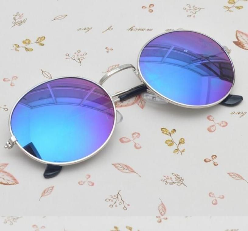 Swagger ZZT Fashion Men Women Sunglasses Unisex Hippie Shades Hippy 60S John Lennon Style Vintage Round Sunglasses Zztong