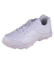Reebok Boy's Racer K 3 White Lace School shoes |Sports Shoes