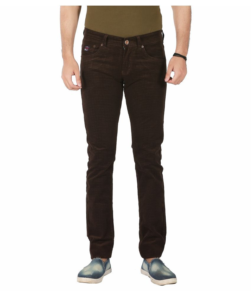 Frod Coffee Slim Jeans
