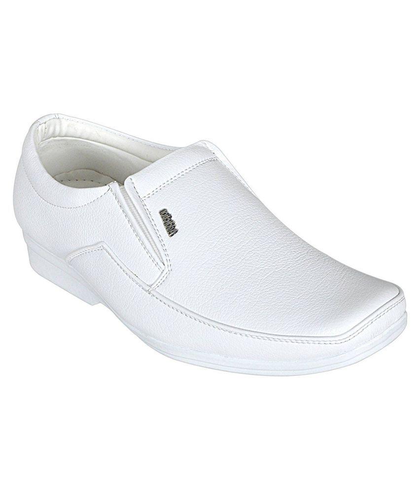Pollo White Casual Shoes