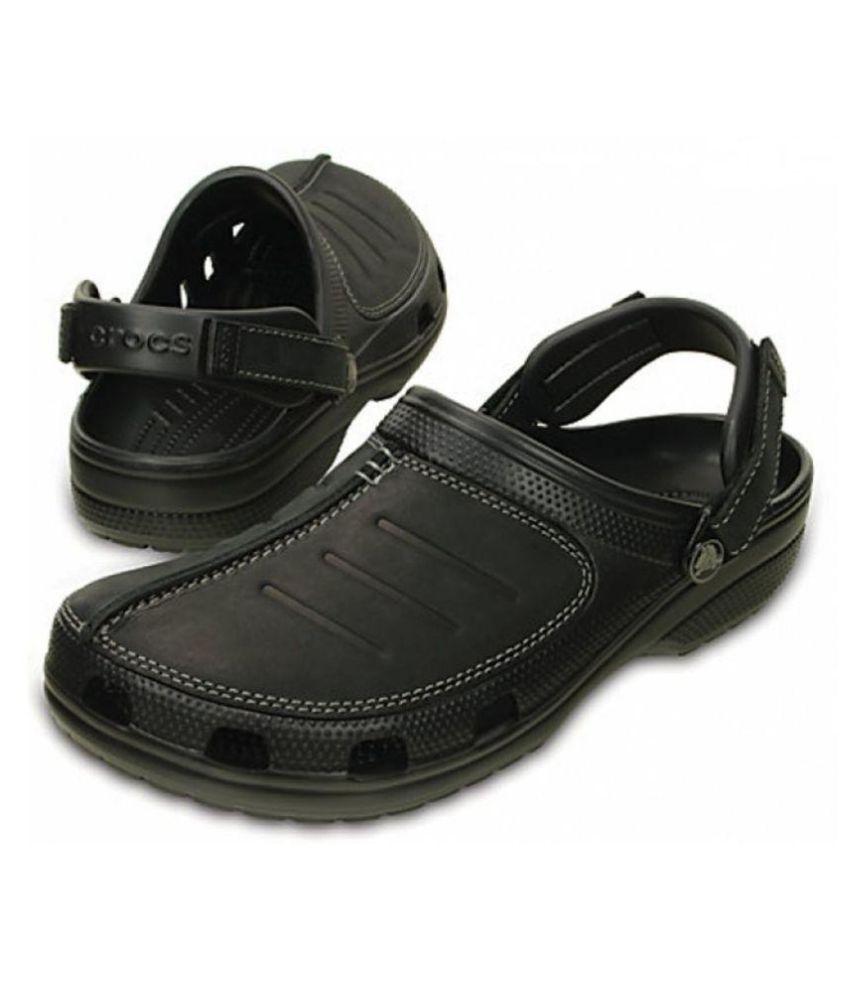 Crocs Yukon Mesa Men Clog Black Croslite Sandals Price in India- Buy ... cc6212cfcd