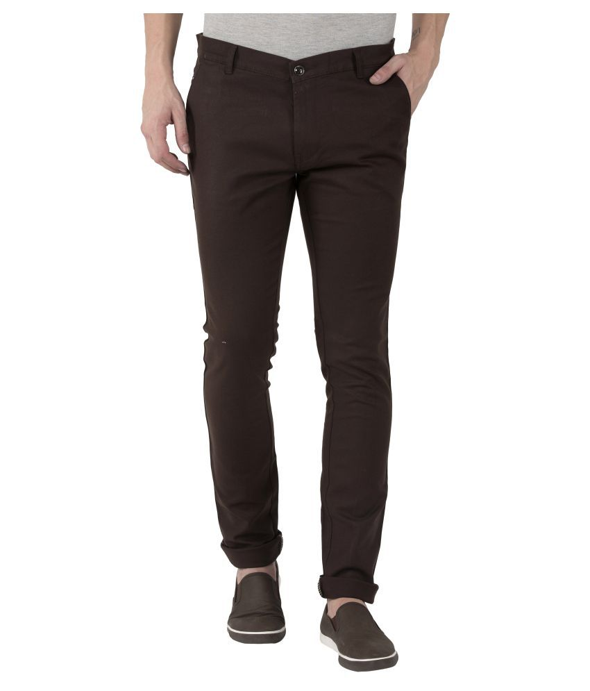 JUGEND Coffee Slim -Fit Flat Chinos