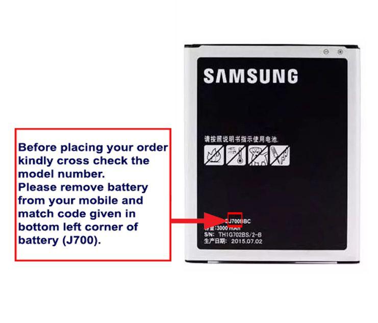 Samsung Galaxy J7 3000 mAh Battery by SNPD