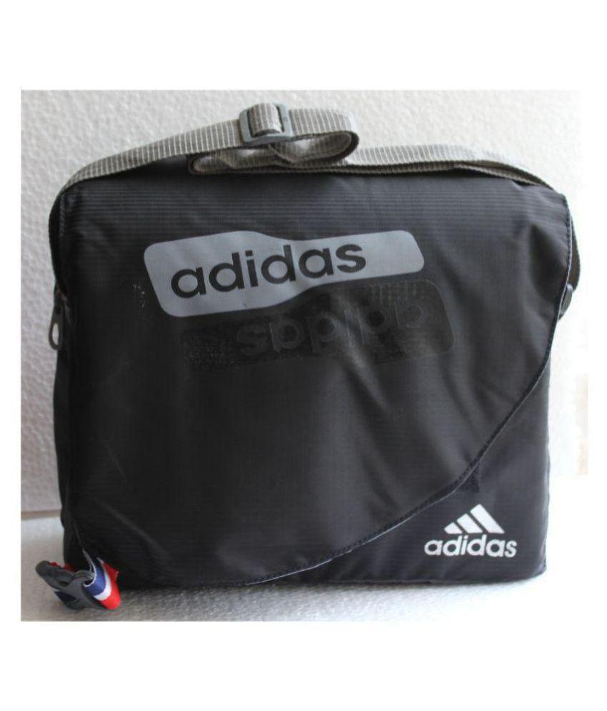 466c1e7a06d5 Adidas NA Black Nylon Casual Messenger Bag Side Bag - Buy Adidas NA Black  Nylon Casual Messenger Bag Side Bag Online at Low Price - Snapdeal