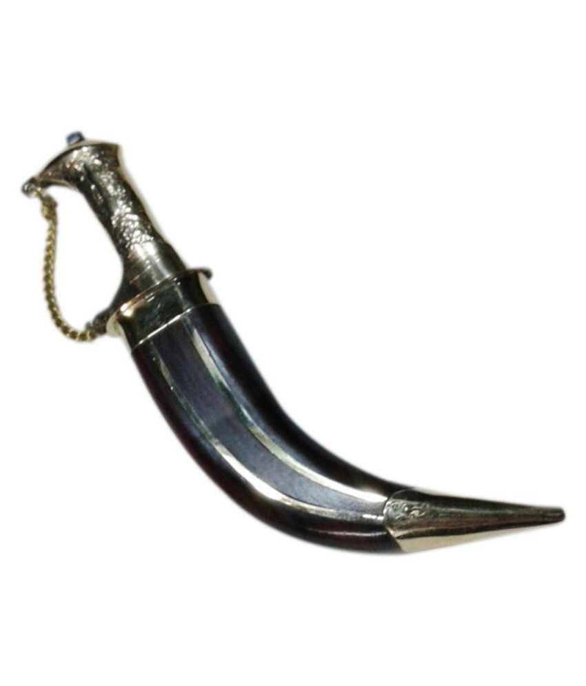 Kakaar Palace Smooth Knife Blade Length 7 cms, Knife Length - 10 cms, Weight -  300 gms