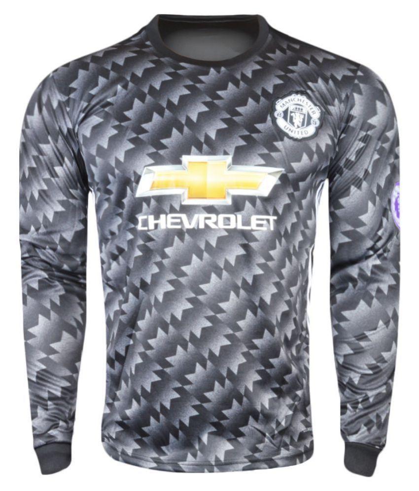 Manchester Black Polyester Jersey